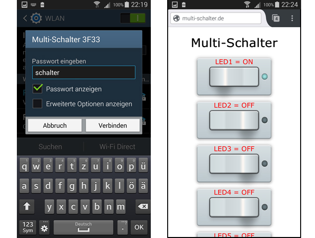 Multi-Schalter (Access-Point-Version)