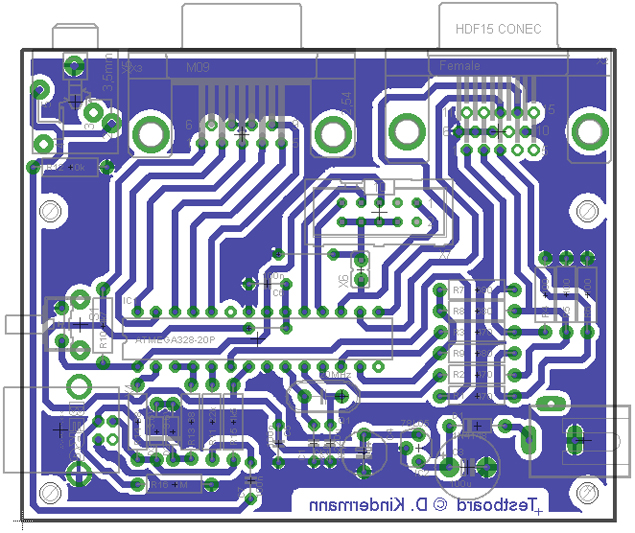 Testboard (Layout)