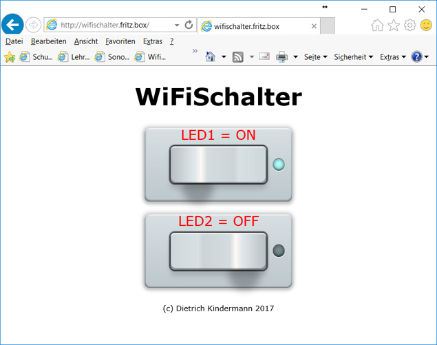 WiFiSchalter (Version 2)