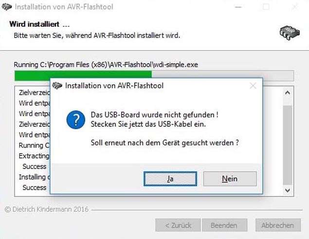 Flashtoolinstallation in Windows 10